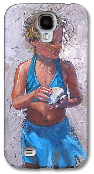 Gabby Galaxy S4 Case by Laura Lee Zanghetti