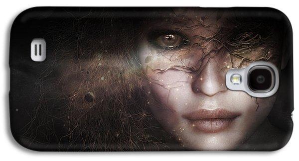 Gaia Goddess Galaxy S4 Case by Shanina Conway