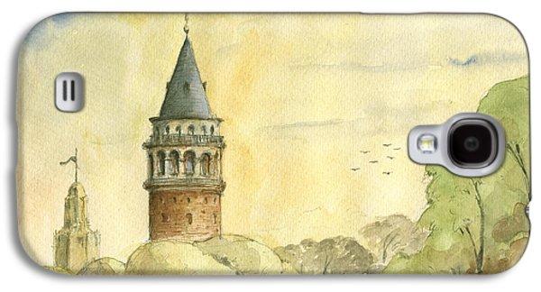 Galata Tower Istanbul Galaxy S4 Case by Juan Bosco