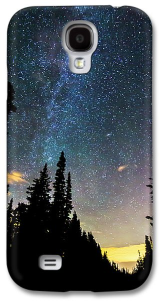 Galaxy S4 Case featuring the photograph  Galaxy Rising by James BO Insogna