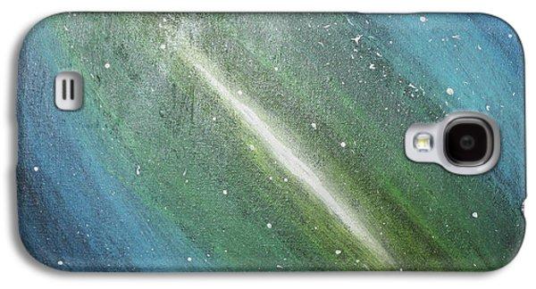 Galaxy's Eye Galaxy S4 Case by Cyrionna The Cyerial Artist