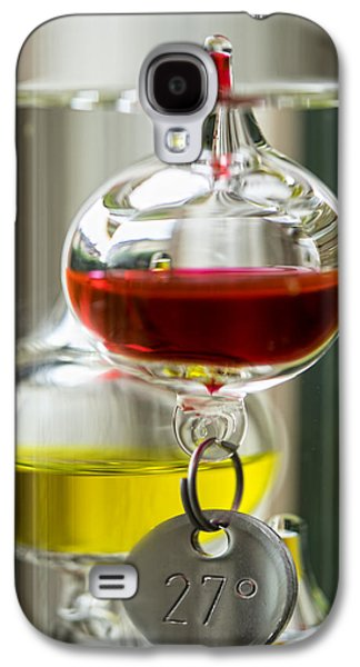 Galaxy S4 Case featuring the photograph Galileo Thermometer by Jeremy Lavender Photography