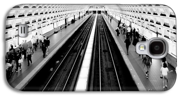 Train Galaxy S4 Case - Gallery Place Metro by Thomas Marchessault