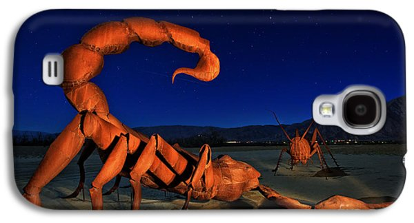 Galleta Meadows Estate Sculptures Borrego Springs Galaxy S4 Case by Sam Antonio