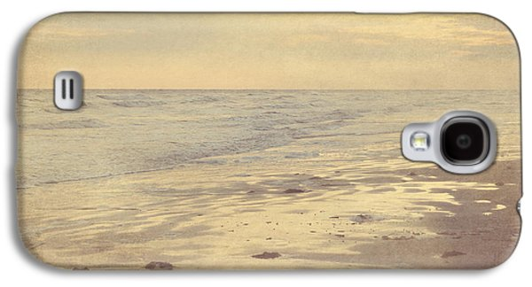 Galveston Island Sunset Seascape Photo Galaxy S4 Case by Svetlana Novikova