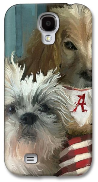Game Day Galaxy S4 Case by Carrie Joy Byrnes