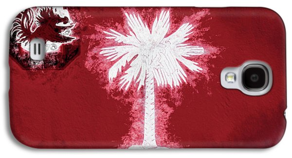 Galaxy S4 Case featuring the digital art Gamecocks South Carolina State Flag by JC Findley