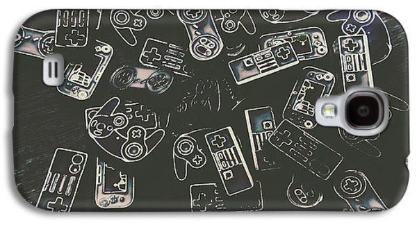 Gamers Of Arcade  Galaxy S4 Case by Jorgo Photography - Wall Art Gallery