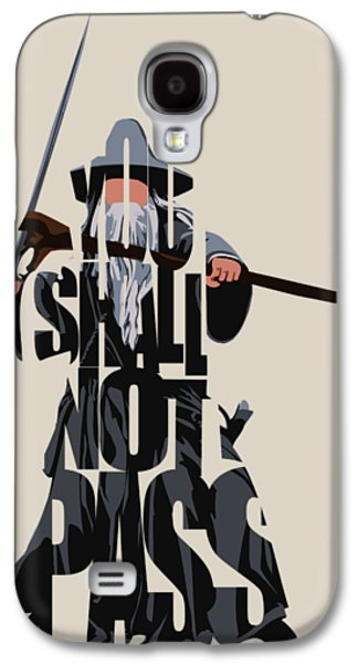 Gandalf - The Lord Of The Rings Galaxy S4 Case