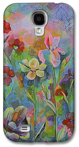 Garden Of Intention - Triptych Center Panel Galaxy S4 Case
