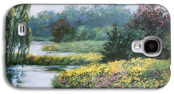 Garden On Water Galaxy S4 Case by Laurie Hein