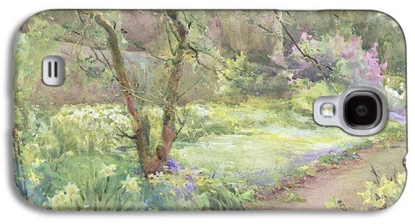 Garden Path Galaxy S4 Case by Mildred Anne Butler