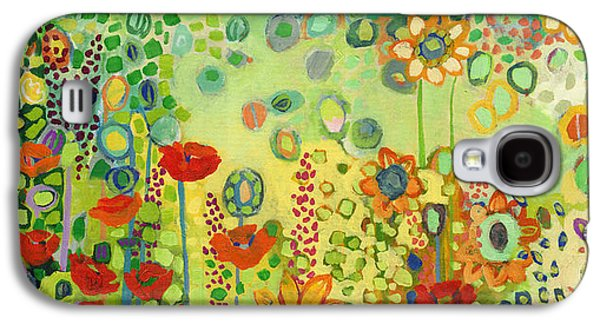 Sunflower Galaxy S4 Case - Garden Poetry by Jennifer Lommers