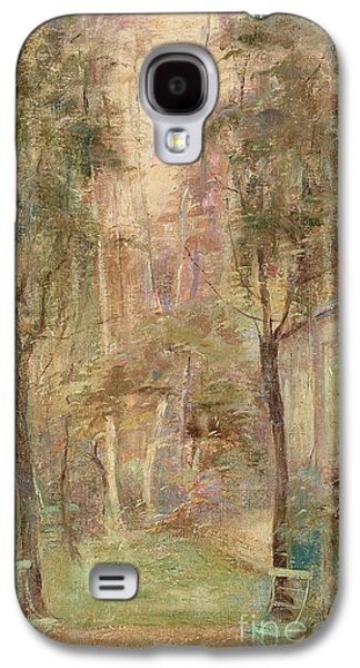 Garden Scene From The Artist Galaxy S4 Case by MotionAge Designs