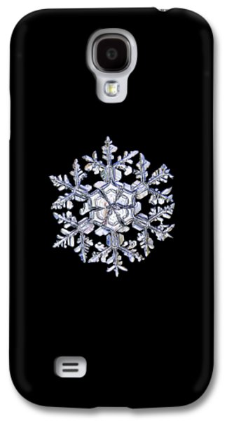 Gardener's Dream, White On Black Version Galaxy S4 Case