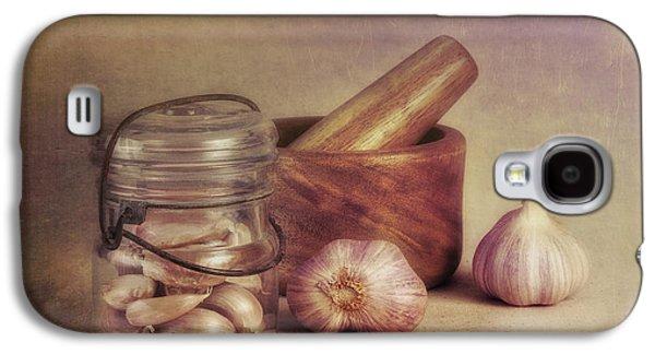 Garlic In A Jar Galaxy S4 Case by Tom Mc Nemar