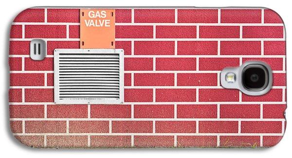 Gas Valve Galaxy S4 Case by Tom Gowanlock