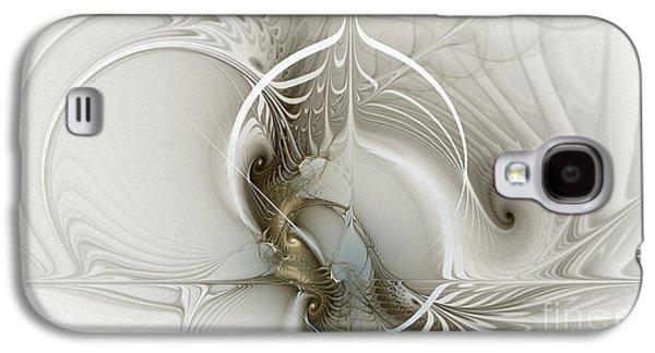 Gateway To Heaven-fractal Art Galaxy S4 Case by Karin Kuhlmann