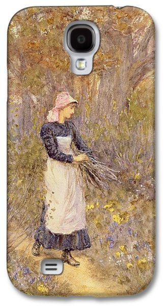 Gathering Wood For Mother Galaxy S4 Case by Helen Allingham