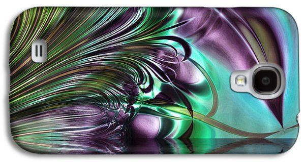 Gaze Galaxy S4 Case by Mindy Sommers