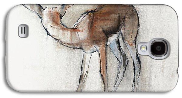 Gazelle Fawn  Arabian Gazelle Galaxy S4 Case by Mark Adlington