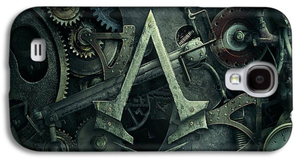 Gear Head Steampunk  Galaxy S4 Case by Movie Poster Prints