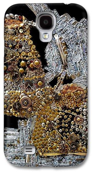 Gears Of Aquarius Galaxy S4 Case by Betty Lu Aldridge