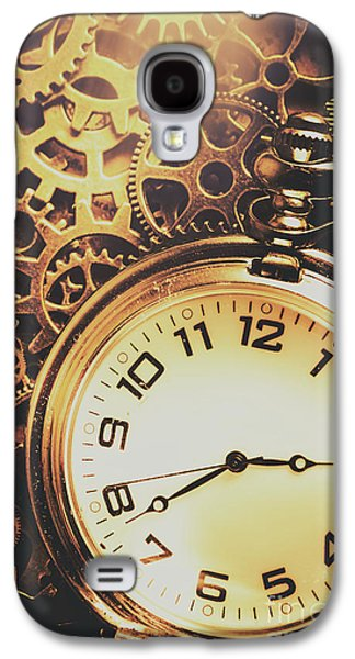 Gears Of Time Travel Galaxy S4 Case by Jorgo Photography - Wall Art Gallery