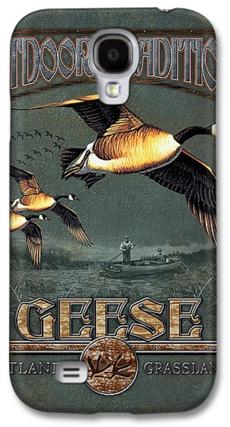 Geese Galaxy S4 Case - Geese Traditions by JQ Licensing
