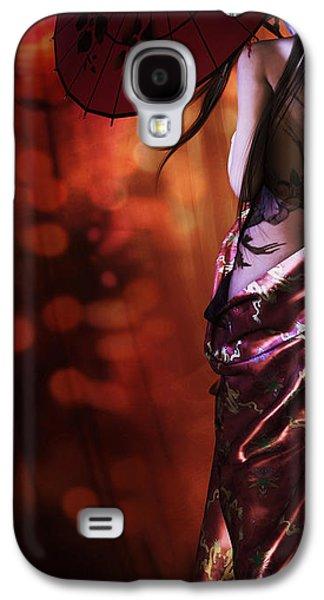 Geisha Gold Crop Galaxy S4 Case by Shanina Conway