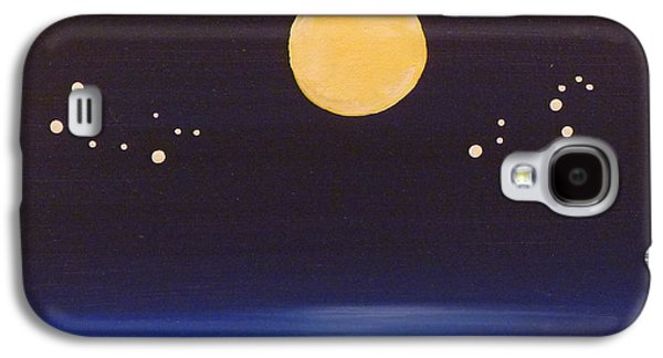 Fate Paintings Galaxy S4 Cases - Gemini and Leo Galaxy S4 Case by Alys Caviness-Gober