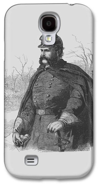 General Ambrose Burnside Galaxy S4 Case by War Is Hell Store