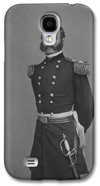 General Ambrose Everett Burnside Galaxy S4 Case by War Is Hell Store