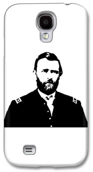 General Grant Black And White  Galaxy S4 Case