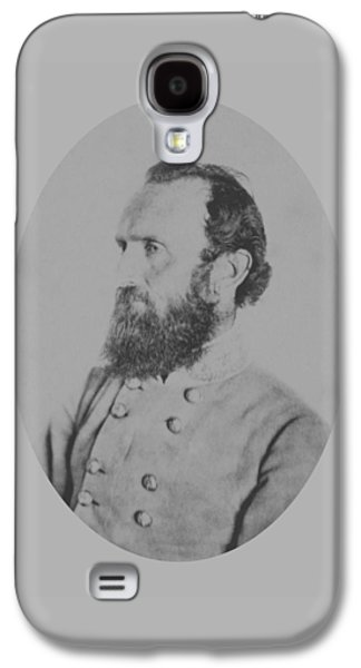 General Thomas Stonewall Jackson Galaxy S4 Case by War Is Hell Store