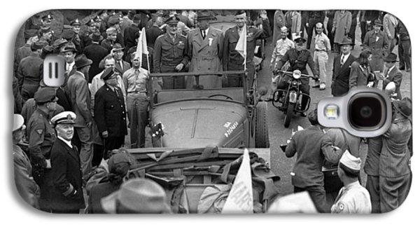 Generals Visit Philadelphia Galaxy S4 Case by Underwood Archives