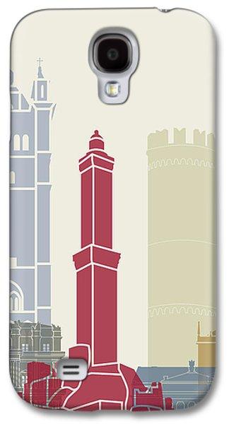 Genoa Skyline Poster Galaxy S4 Case