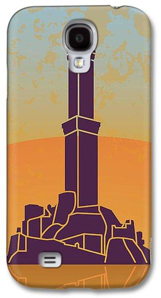 Genoa Vintage Poster Galaxy S4 Case