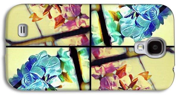 Geometric Blossoms Galaxy S4 Case