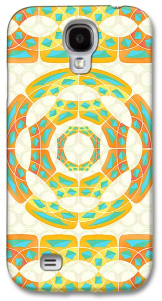Geometric Composition Galaxy S4 Case by Gaspar Avila