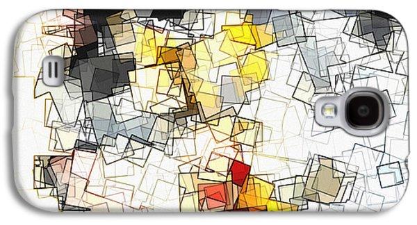 Geometric Minimalist And Abstract Art Galaxy S4 Case by Ayse Deniz