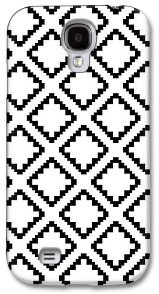 Geometricsquaresdiamondpattern Galaxy S4 Case by Rachel Follett