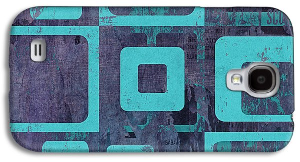 Geomix 02 - Sp06c6b Galaxy S4 Case by Variance Collections