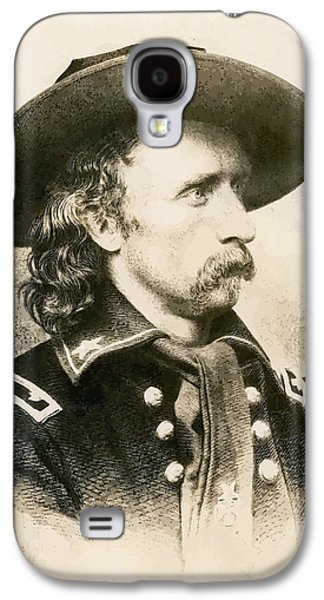 George Armstrong Custer  Galaxy S4 Case