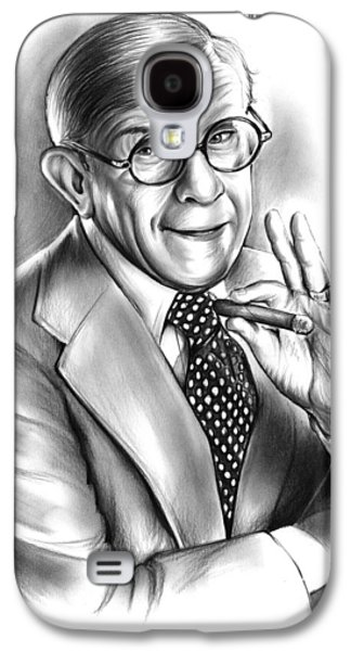 George Burns Galaxy S4 Case by Greg Joens