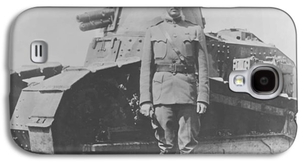 George S. Patton During World War One  Galaxy S4 Case by War Is Hell Store