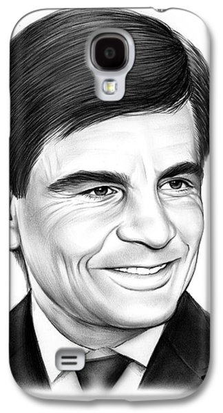 George Stephanopoulos Galaxy S4 Case by Greg Joens