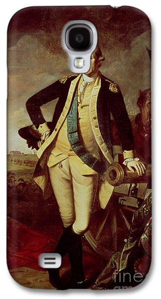 George Washington At Princeton Galaxy S4 Case by Charles Willson Peale