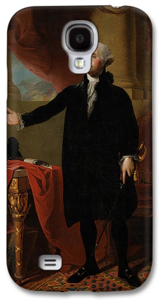 George Washington Lansdowne Portrait Galaxy S4 Case by War Is Hell Store