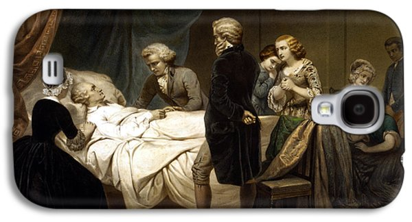 George Washington On His Deathbed Galaxy S4 Case